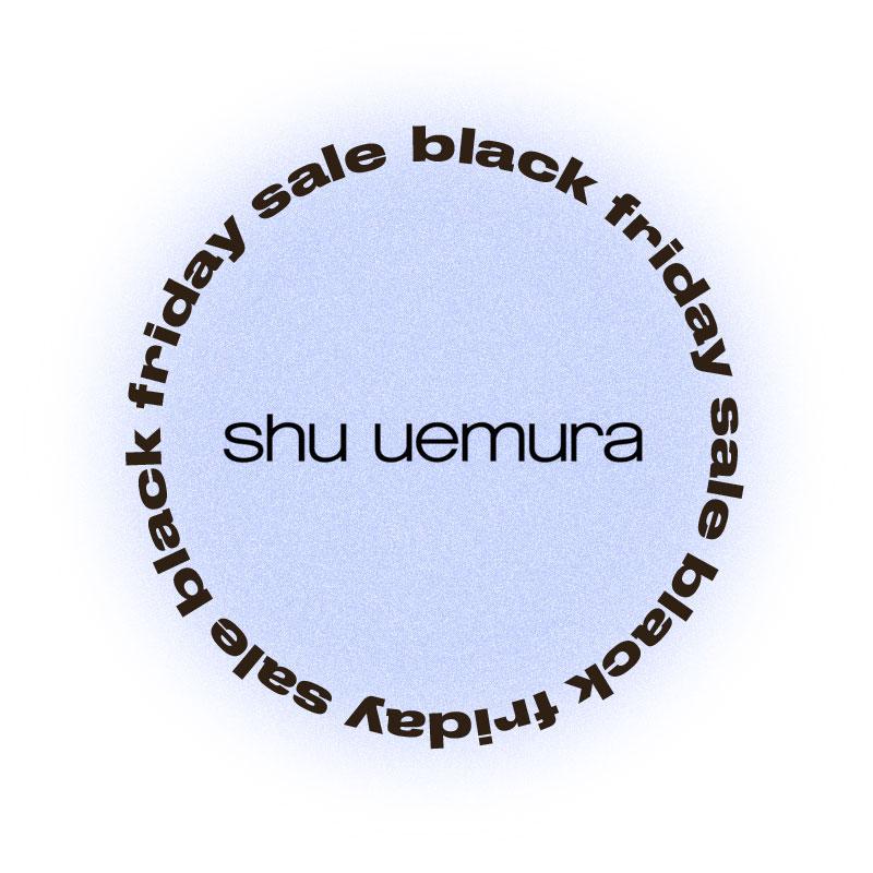 Черная пятница Shu Uemura
