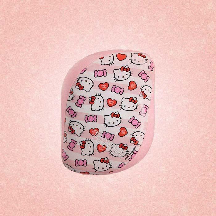Расческа для волос Compact Styler Hello Kitty Candy Stripes, Tangle Teezer