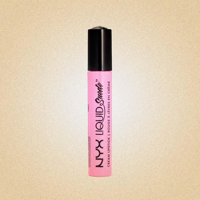 Liquid Suede Cream Lipstick, 08 Pink Lust, NYX Professional Makeup