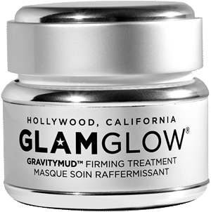Маска для лица, повышающая упругость кожи, Gravitymud Glittermask, Glamglow