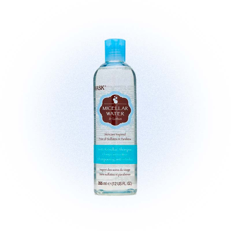 Шампунь для глубокого очищения Micellar Water & Lotus, Hask