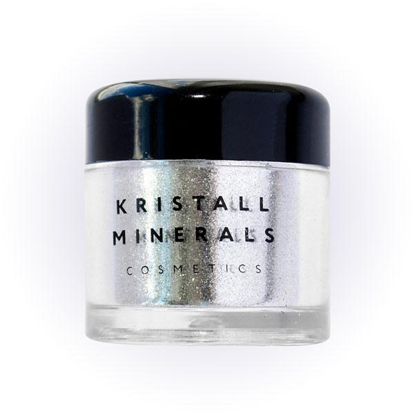 Глиттер моноцвет, P047 «Серебряная диадема», Kristall Minerals
