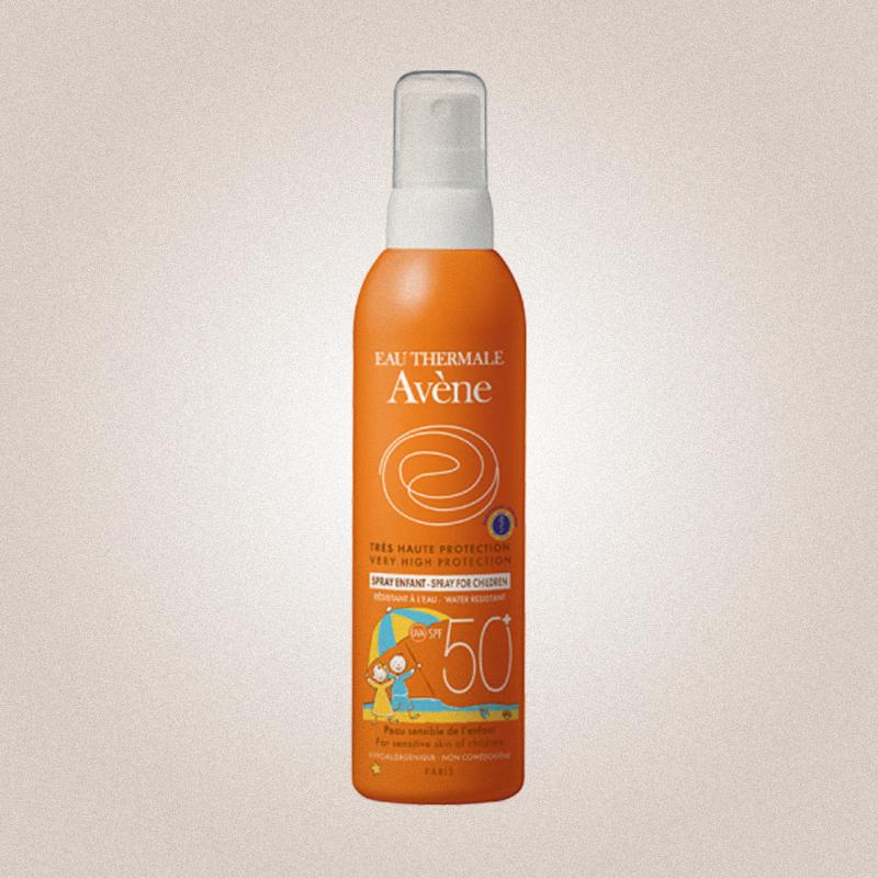 Детский солнцезащитный спрей для лица и тела Avene Sun SPF 50 UVA, Avene