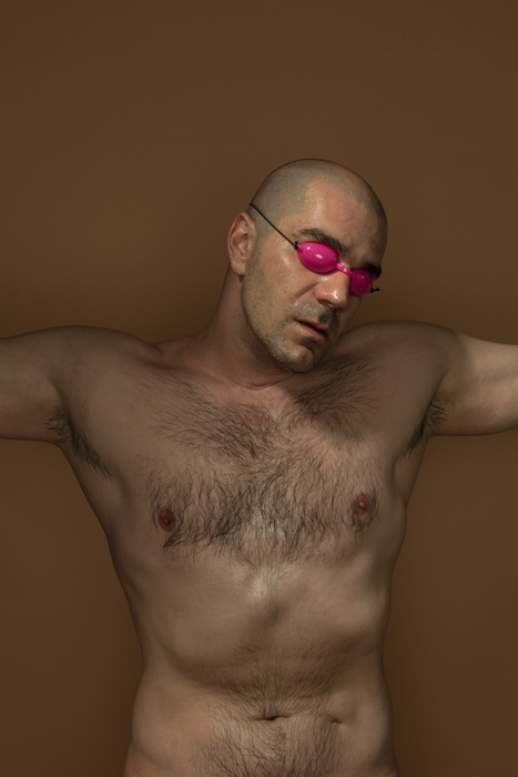 Автопортрет с очками для солярия