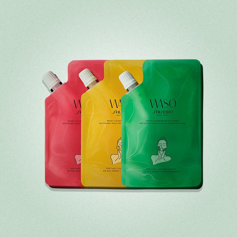 Очищающее средство Wild Garden Reset Cleanser Squad, Waso, Shiseido