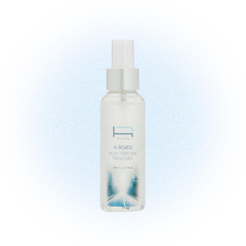 Прохладный парфюмированный спрей Body Perfume Fresh Mist, H.Roads