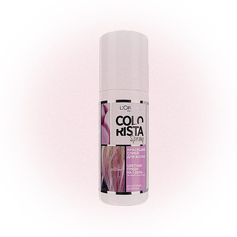 Временная краска-спрей для волос L'Oréal Paris, Colorista Spray