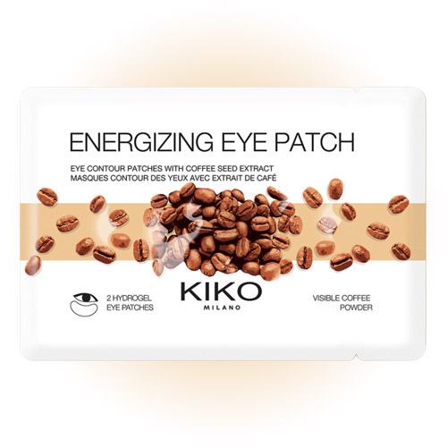 Тонизирующие гидрогелевые патчи с экстрактом кофе для области вокруг глаз KIKO MILANO