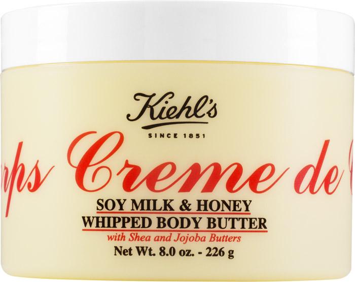 Взбитый крем для тела  Creme de Corps Soy Milk & Honey, Kiehl's