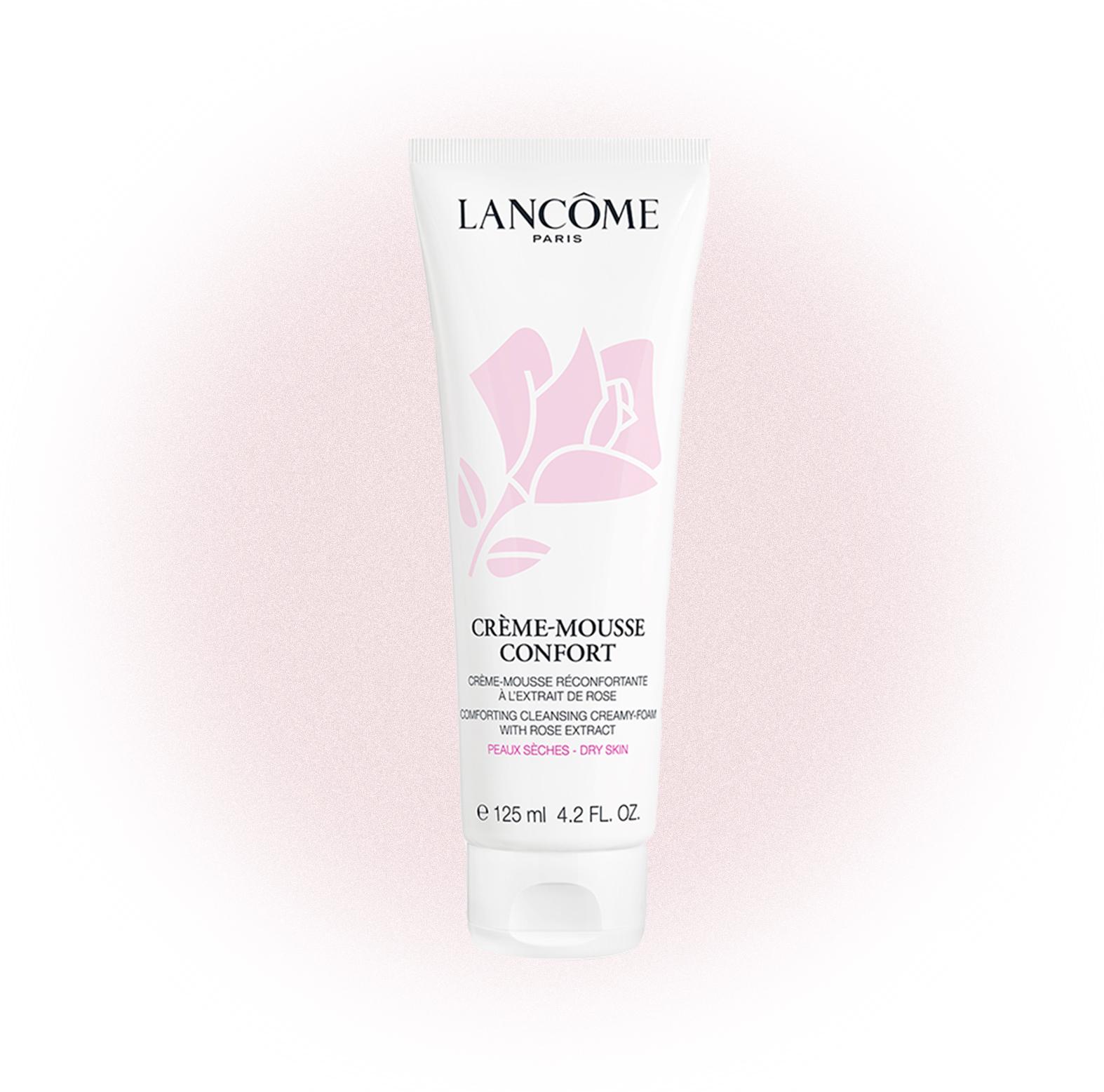 Очищающая пенка для сухой и чувствительной кожи Crème Mousse Confort, Lancome