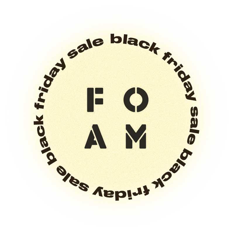 Черная пятница Foam