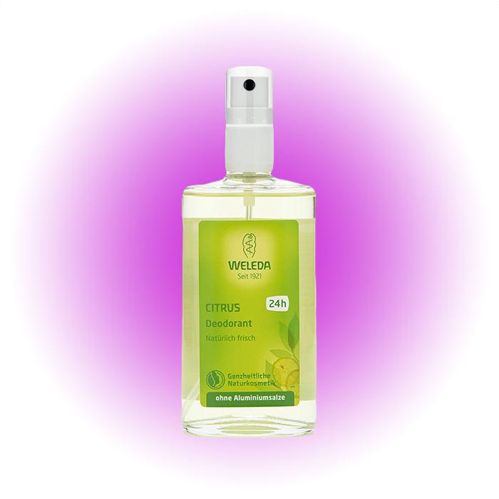 Дезодорант-спрей Citrus, Weleda