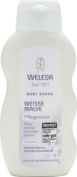Молочко для гиперчувствительной кожи White Mallow Body Lotion, Weleda