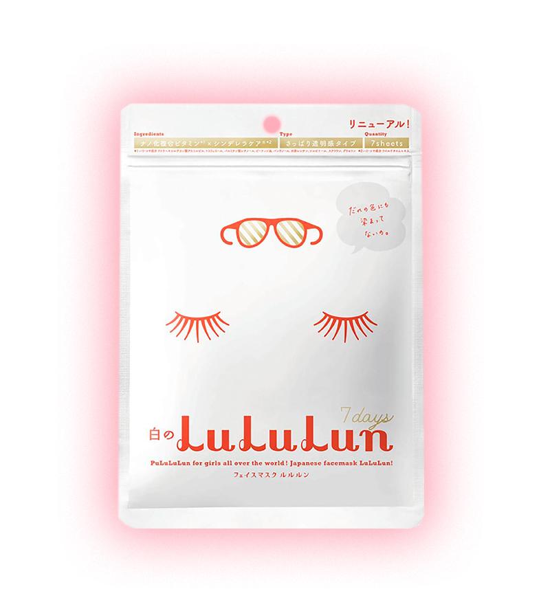 Face Mask White, LuLuLun