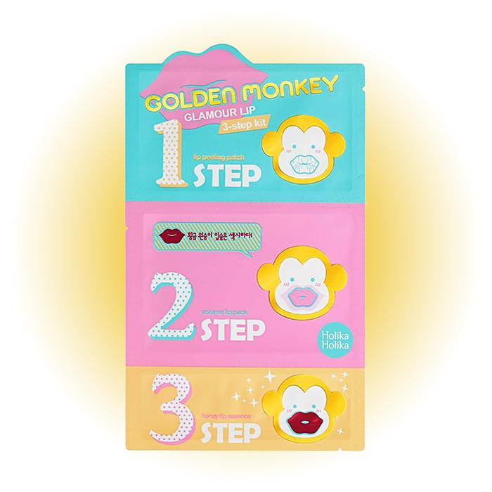 Трехступенчатый уход за губами, Golden Monkey