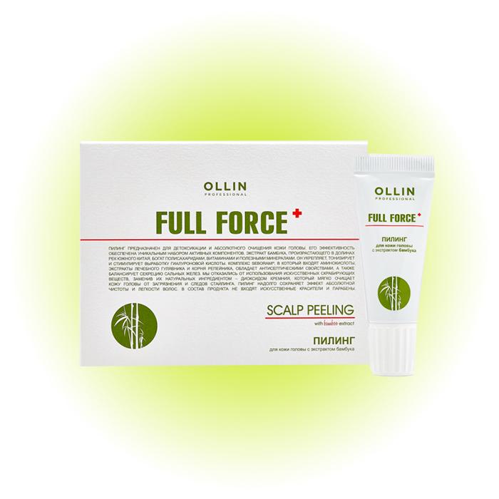 Пилинг для кожи головы с экстрактом бамбука, Ollin Professional
