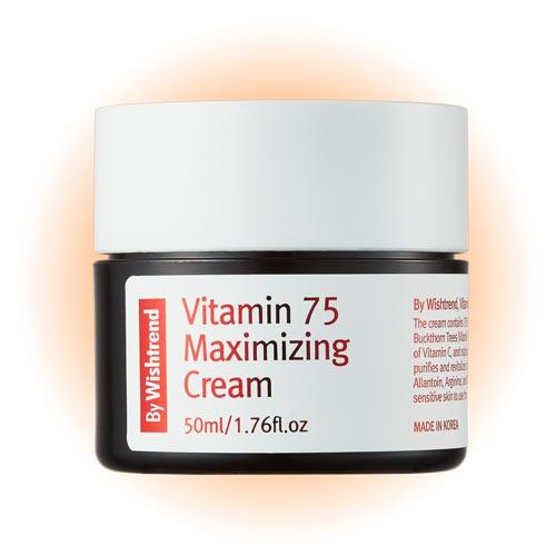 Крем для лица Vitamin 75 Maximizing Cream 50ml, By Wishtrend