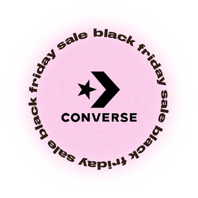 Черная пятница Converse