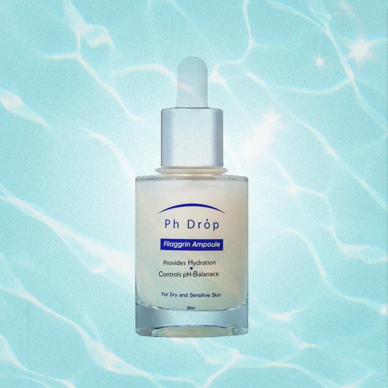 Увлажняющая сыворотка для сухой и чувствительной кожи Filaggrin Repair Ampoule, Ph Drop