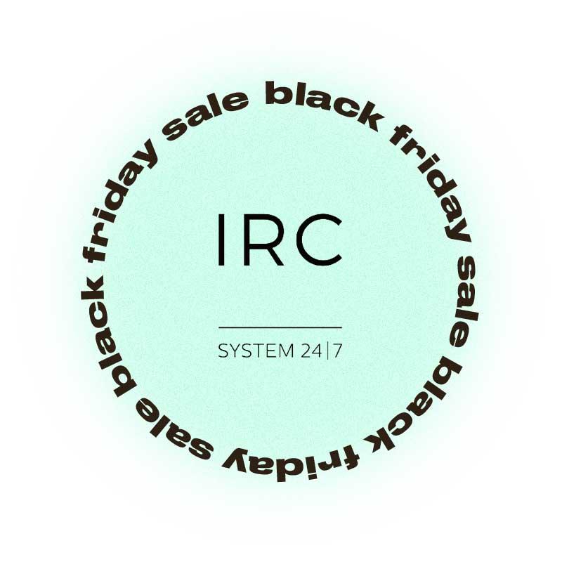 Черная пятница IRC