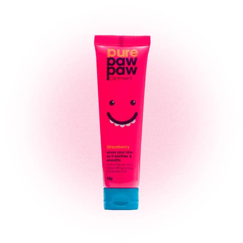 Восстанавливающий бальзам с ароматом «Клубничный смузи», Pure Paw Paw