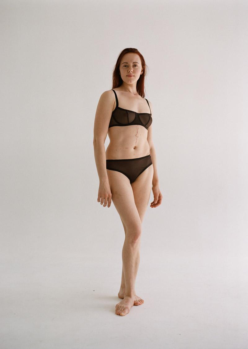 Модель со шрамами