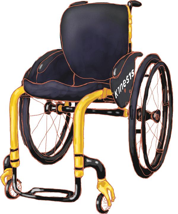 Инвалидная коляска Kinesis