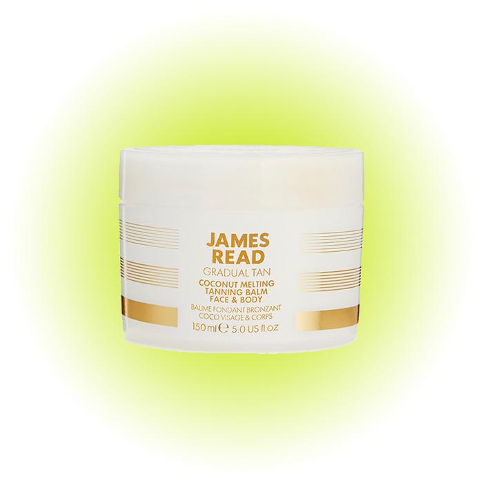 Бальзам для автозагара тела Coconut Melting Tanning Balm Face & Body, James Read
