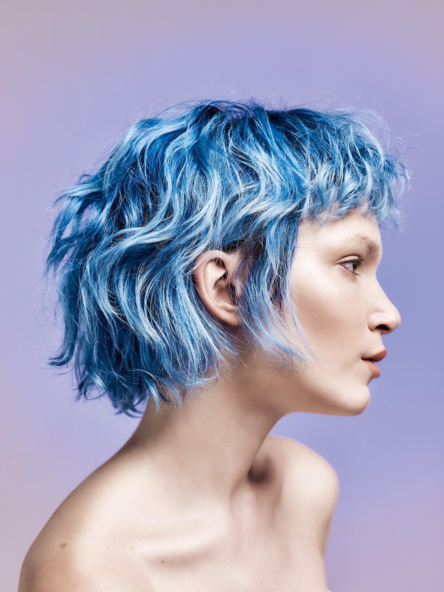 Синее окрашивание