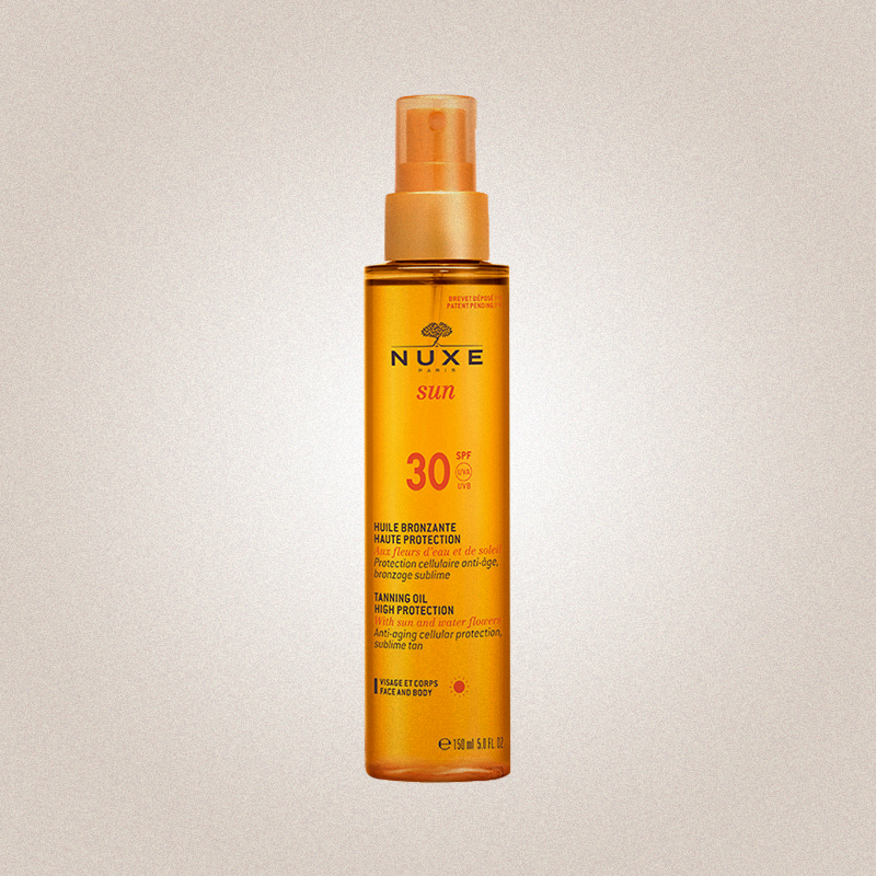 Tanning Oil High Protection SPF 30, Nuxe