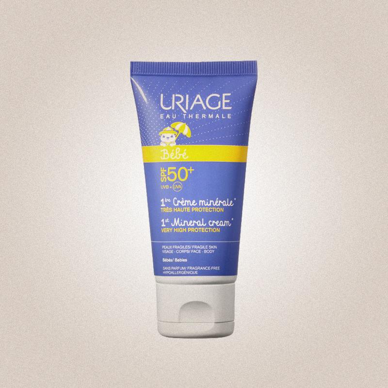 Первый минеральный крем 1st Mineral Cream SPF 50, Uriage