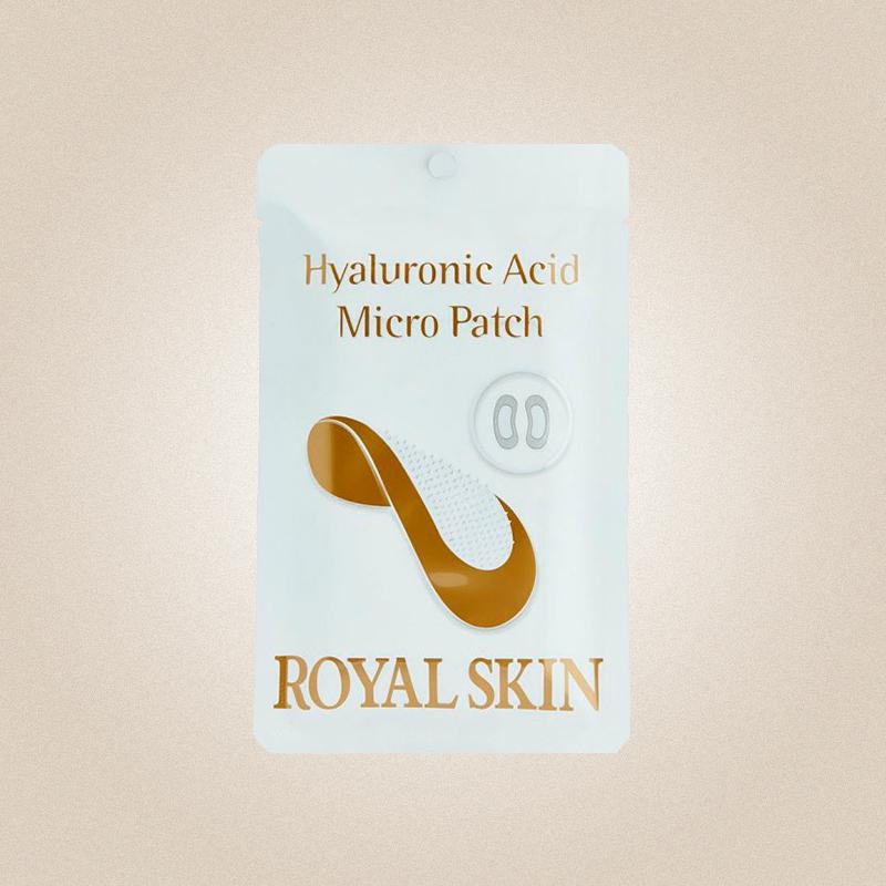Патчи для области вокруг глаз с гиалуроновой кислотой Hyaluronic Acid Micro Patch, Royal Skin