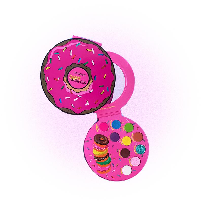 Коллекция мейкапа в виде пончиков, Sugary Cosmetics