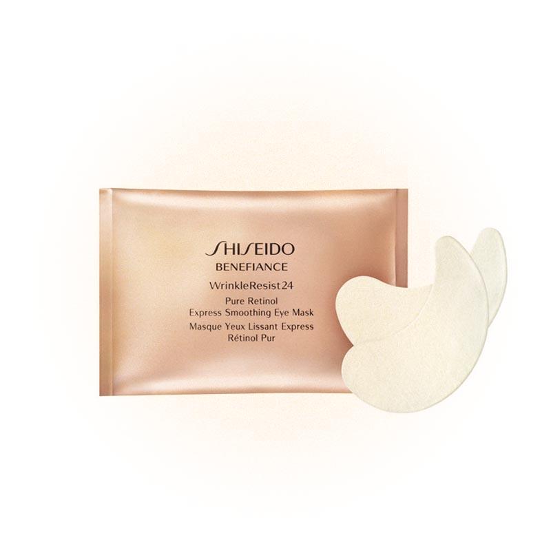 Патчи для глаз Benefiance Pure Retinol Express Smoothing Eye Mask, Shiseido