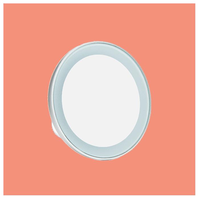 Увеличивающее мини-зеркало Tweezerman Led 15x Mini Mirror, Tweezerman