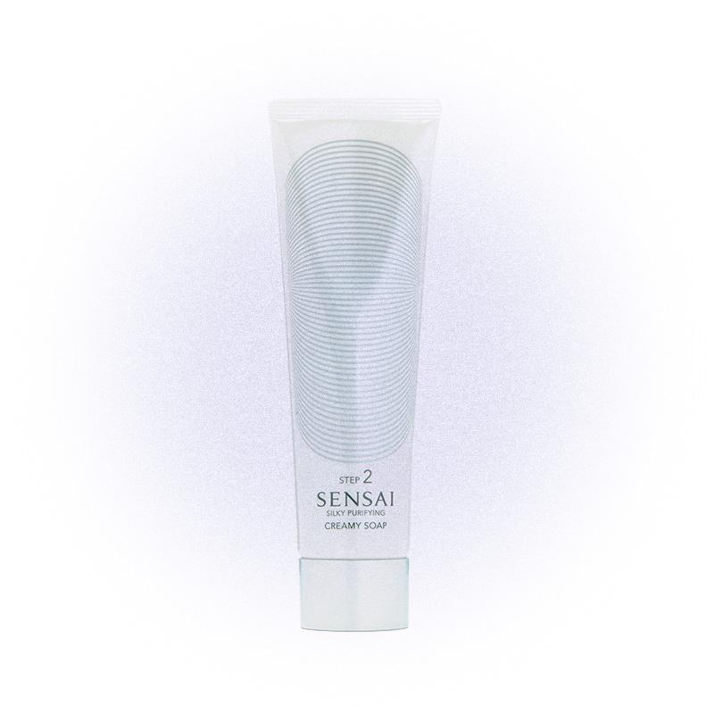 Крем-мыло для лица Silky Purifying Creamy Soap, Sensai
