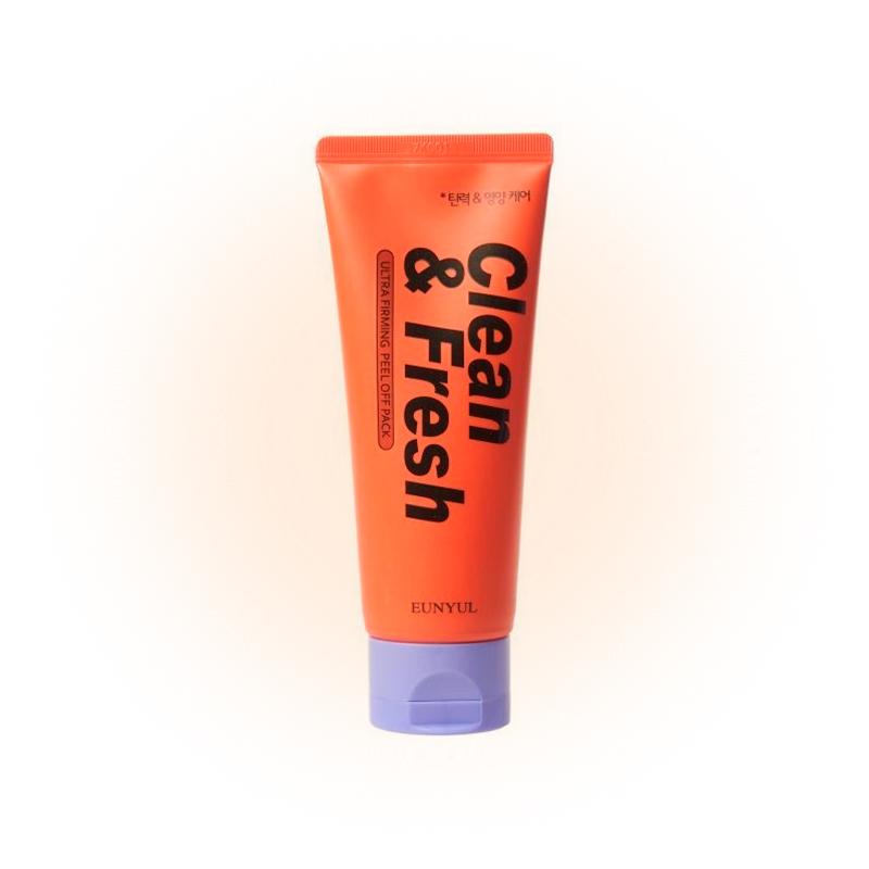 Маска-пленка Clean & Fresh Ultra Firming Peel Off Pack, Eunyul