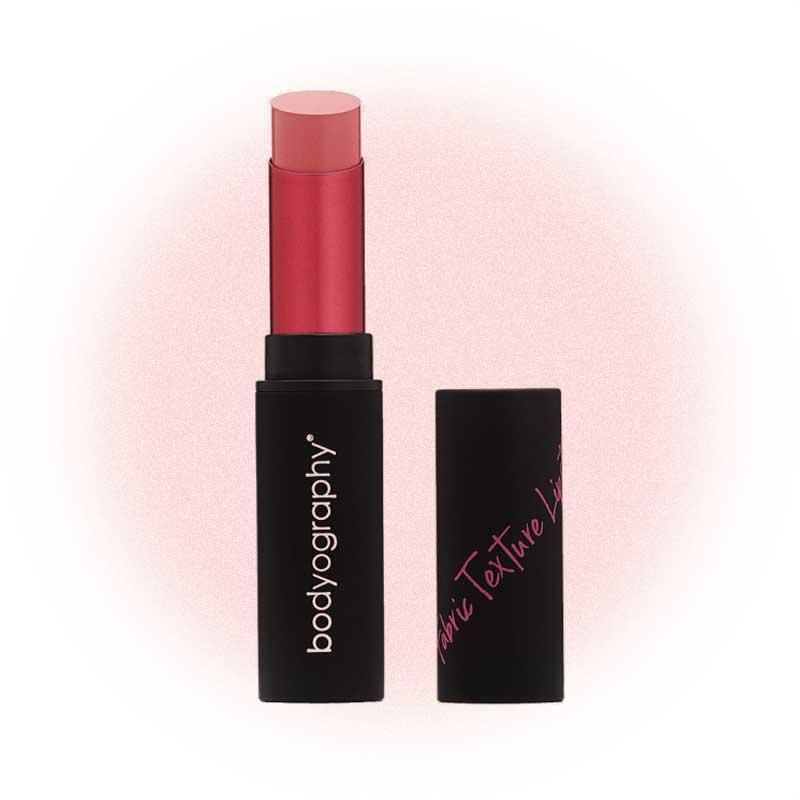 Fabric Texture Lipstick, Cotton, Bodyography
