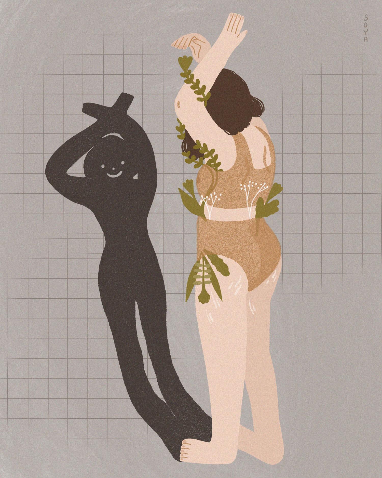 Иллюстрация Сони Рахимжановой