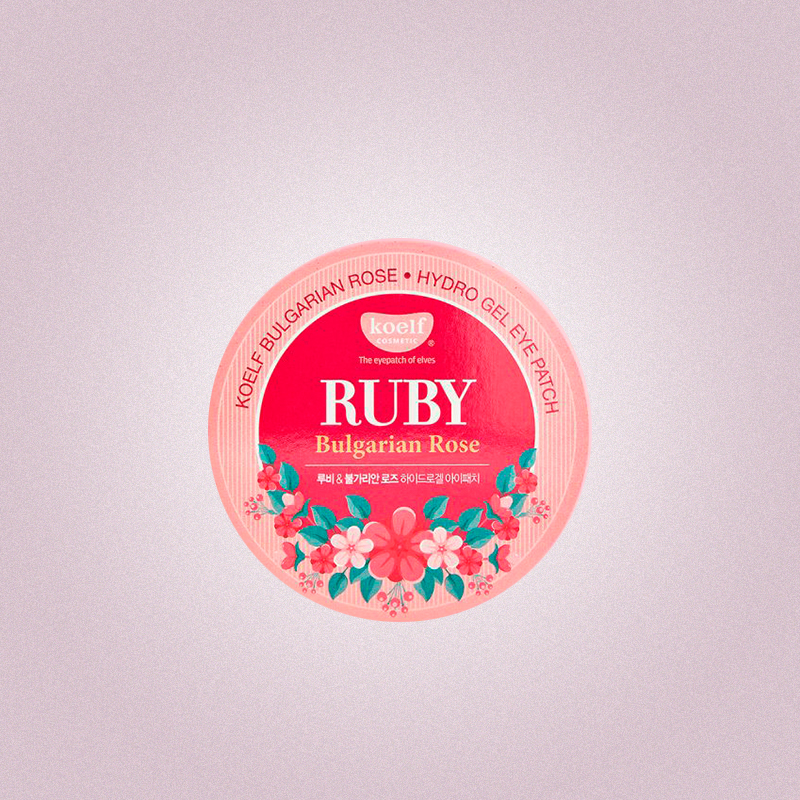 Гидрогелевые патчи Ruby & Bulgarian rose, Koefl