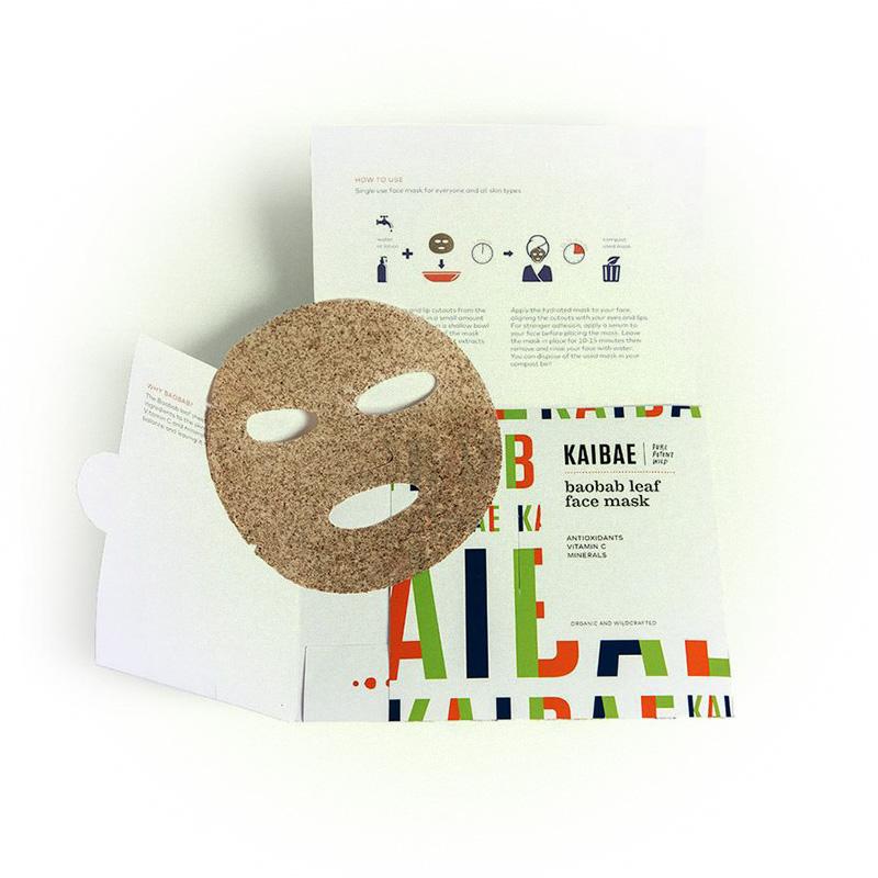 Баобабовая маска для лица, Kaibae