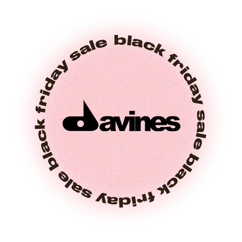 Черная пятница Davines