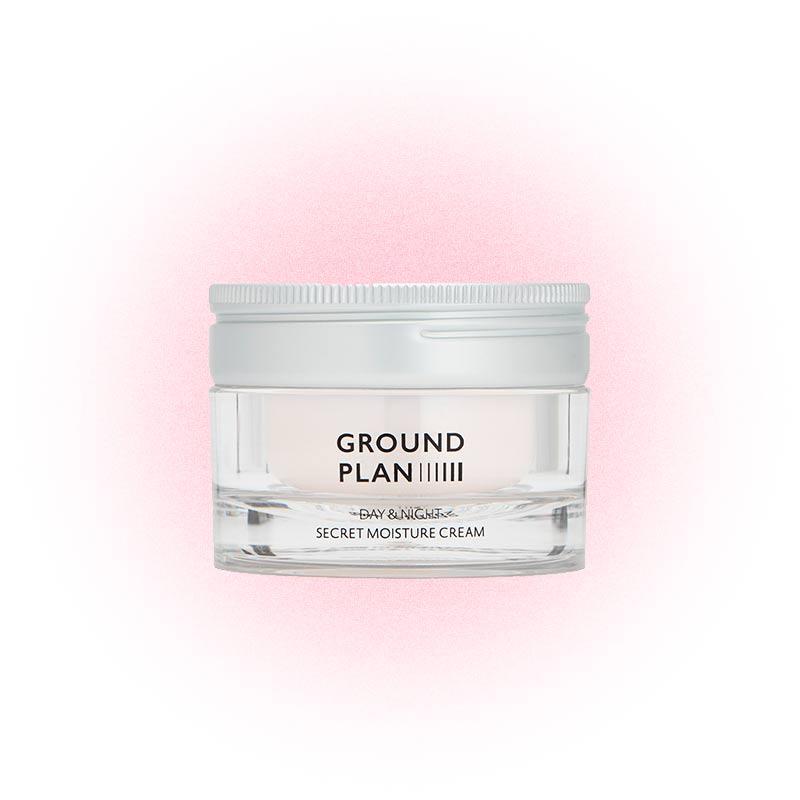 Дневной и ночной увлажняющий крем Secret Moisture, Ground Plan