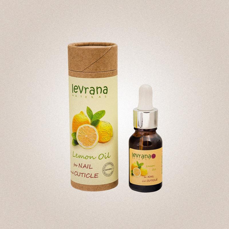 Масло для кутикулы «лимон», Levrana