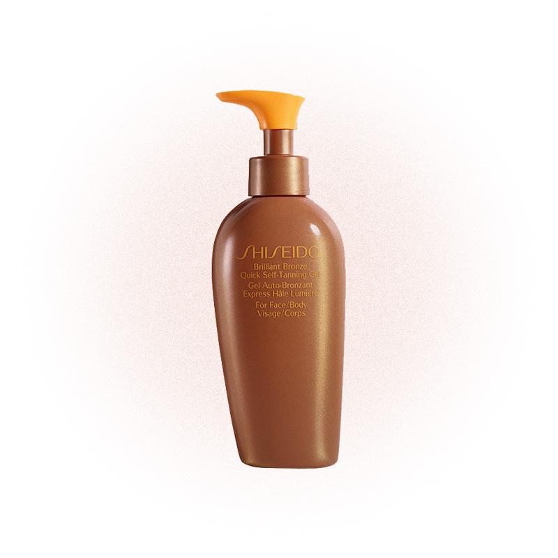 Гель-автозагар для лица и тела Brilliant Bronze, Shiseido
