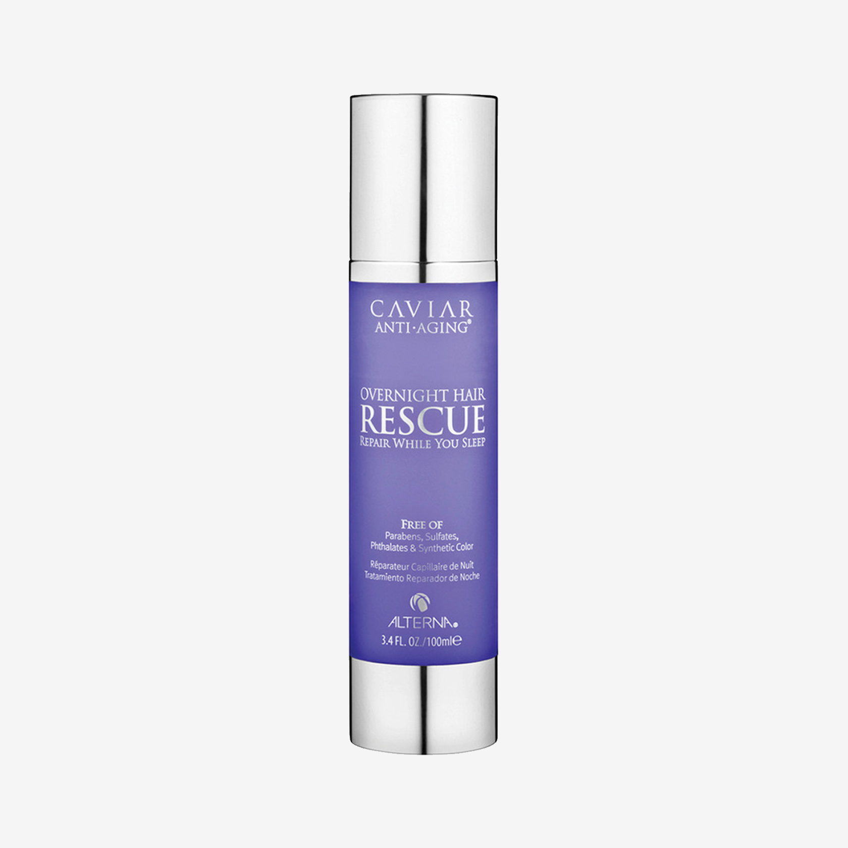 Ночное средство для восстановления волос Overnight Hair Rescue Caviar, Alterna