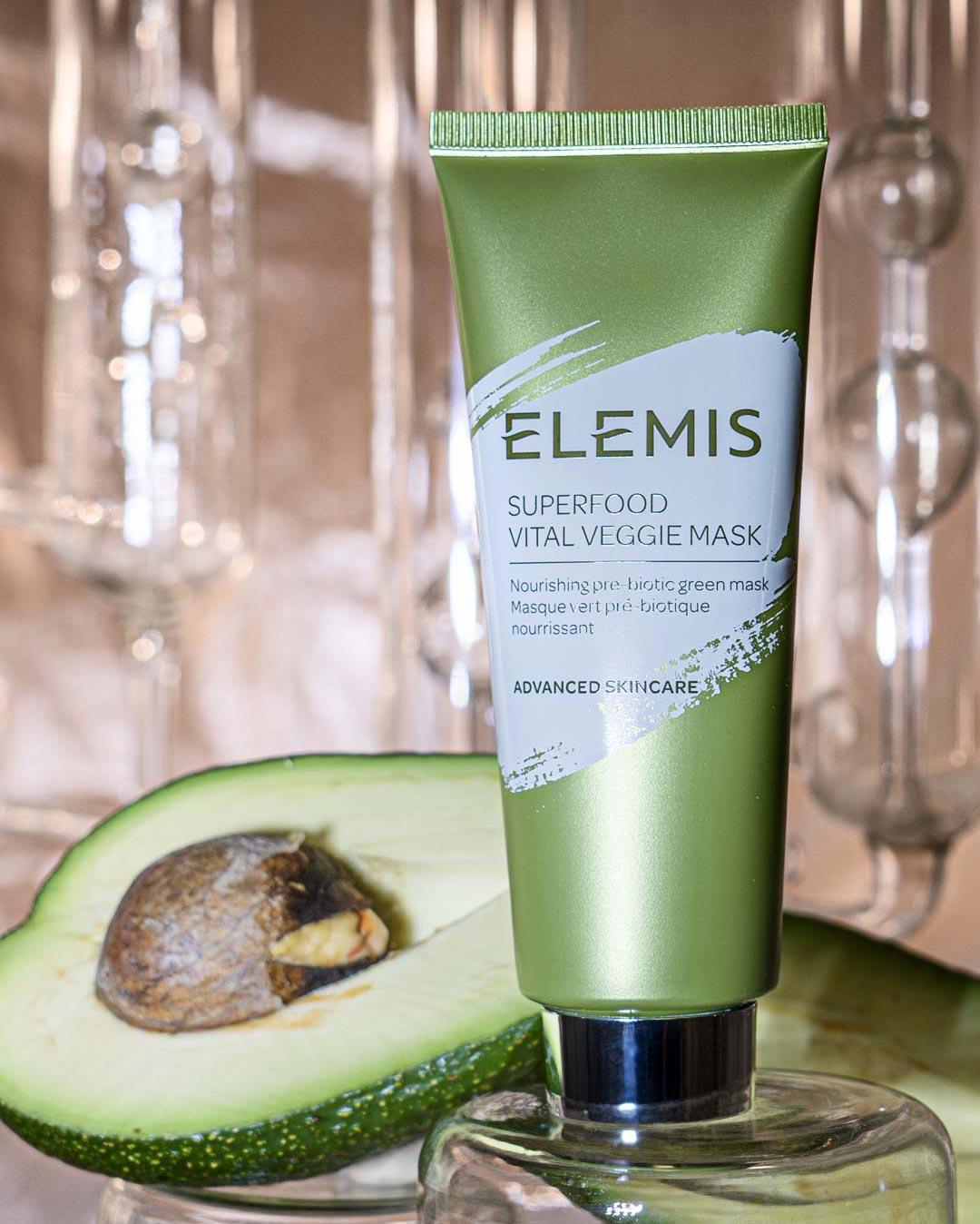 Питательная маска для лица с пребиотиками «Зеленый микс Суперфуд», Elemis
