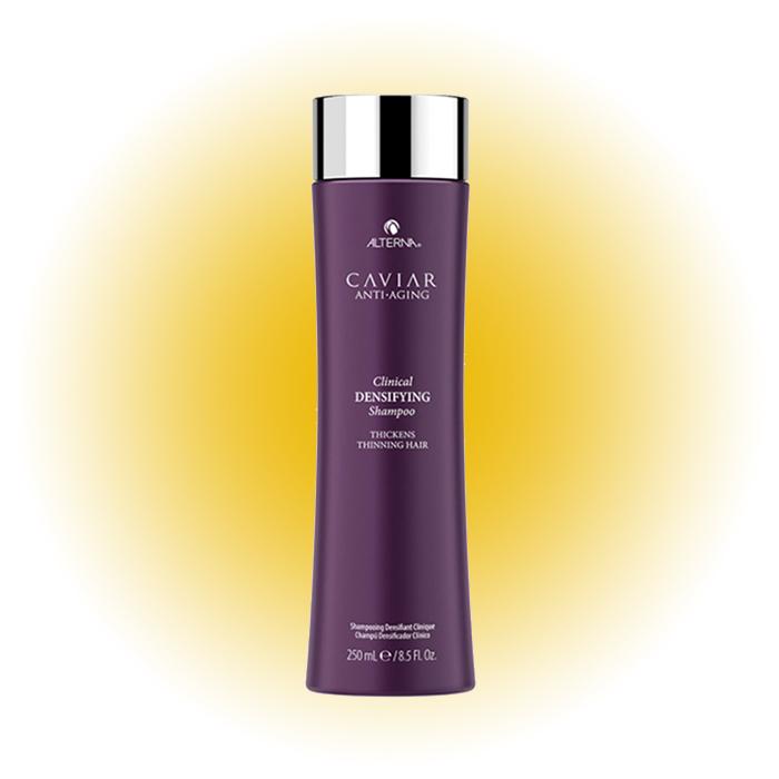 Несмываемый спрей-детокс для уплотнения и стимулирования роста волос Caviar anti-aging clinical densifying, Alterna