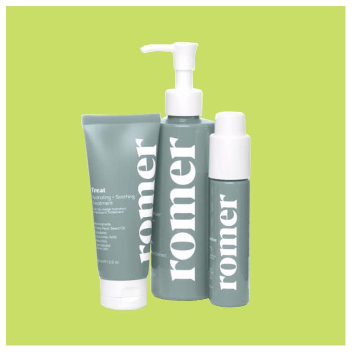 Простой уход за лицом Romer Skincare