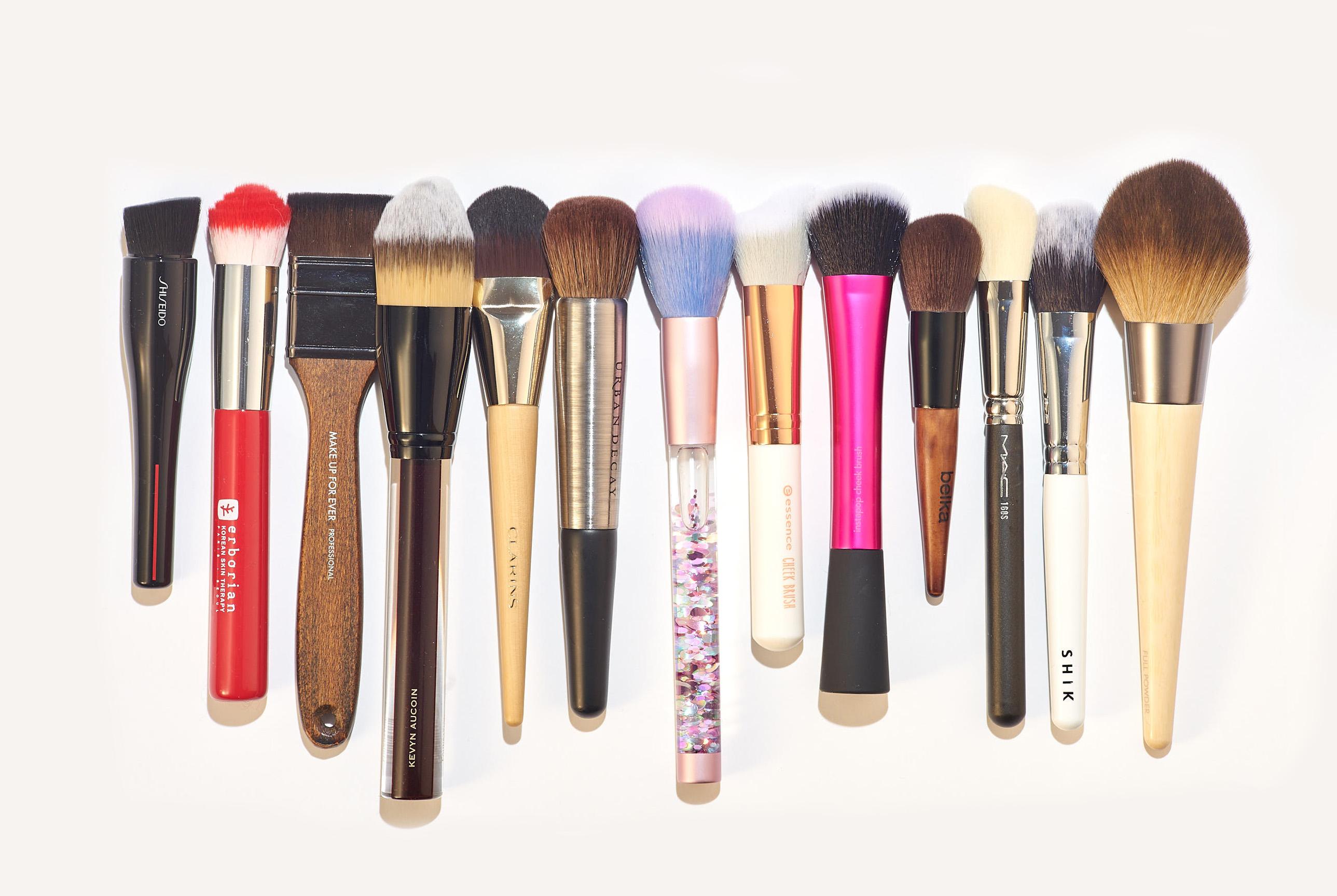 Синтетические кисти для макияжа